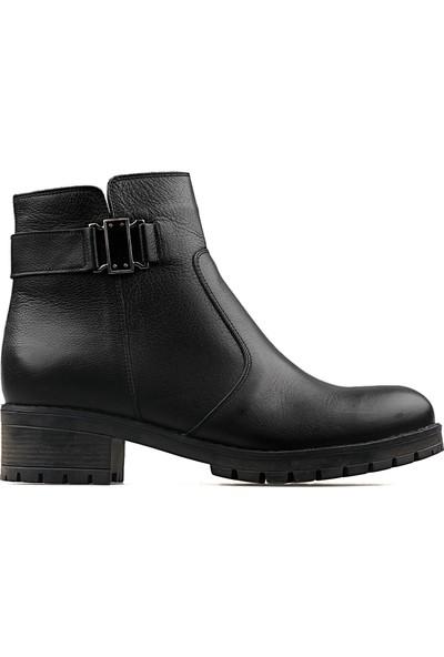 Castle Black Siyah Kadın Günlük Ayakkabı Spor 16463-1-SIYAH 16463 1 Siyah
