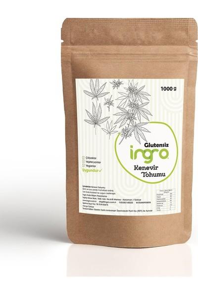 İngro Glutensiz Kenevir Tohumu 1 kg