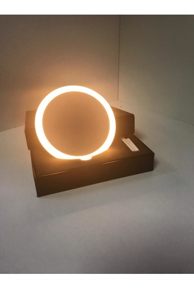 Taled Mini Işıklı Makyaj Aynası-Ayarlanabilir 3 Renkli-Şarjlı