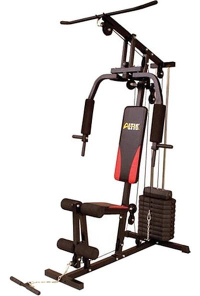Altis HG100 Vücut Geliştirme Çalışma Istasyonu - 50 kg Plaka Ağırlıklı