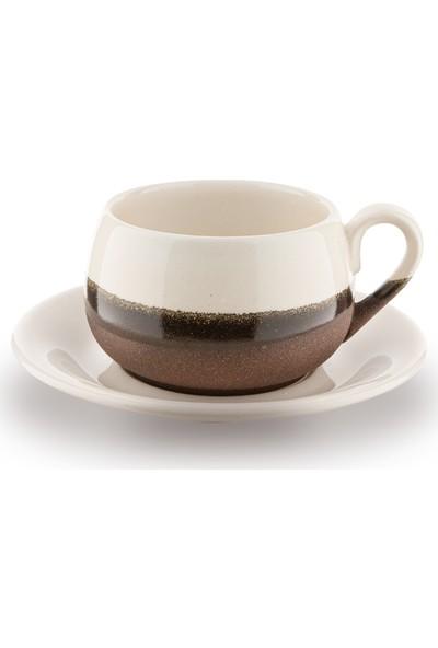 Doreline 2'li Coffeart El Yapımı Kahve Fincan Seti