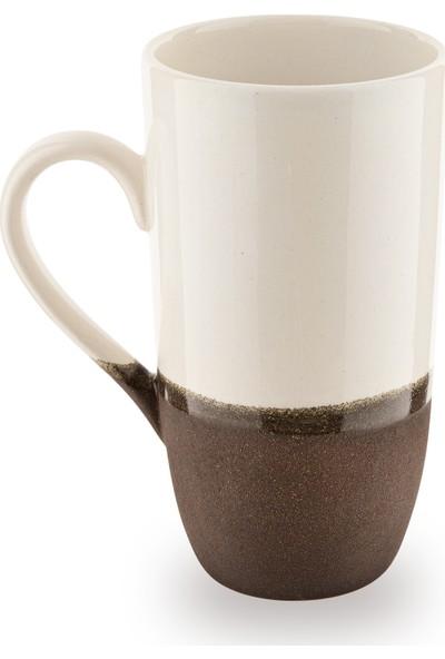 Doreline 2'li Coffeart El Yapımı Kahve Fincan Kupa