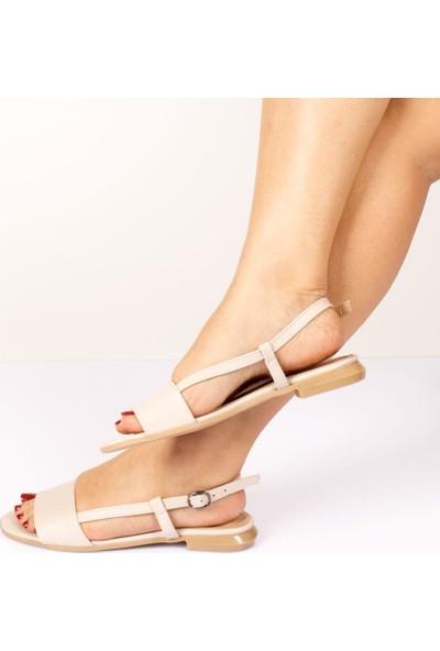 Beety Lora Bej Kadın Sandalet