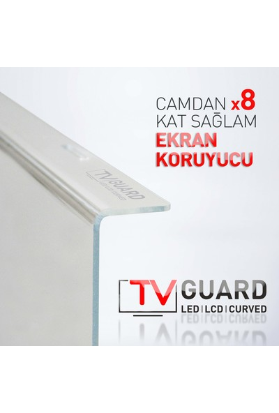 "Tv Guard 65"" Grundig 65 Gdu 7905 B Ekran Koruyucu Panel"