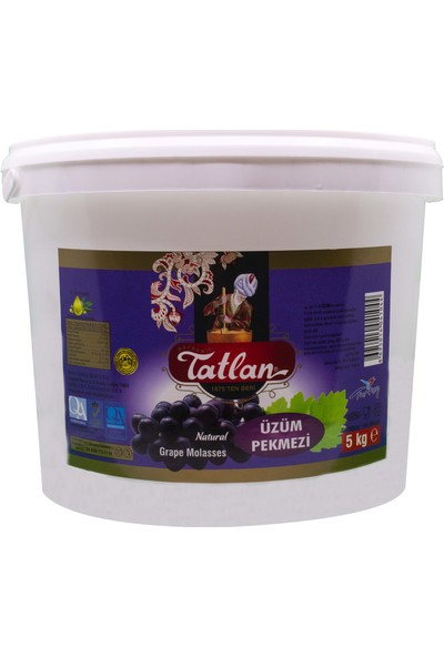 Tatlan Üzüm Pekmezi Kova 5 kg