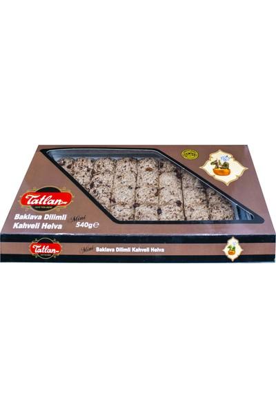 Tatlan Mini Baklava Dilimi Kahveli Tahin Helvası 540 gr