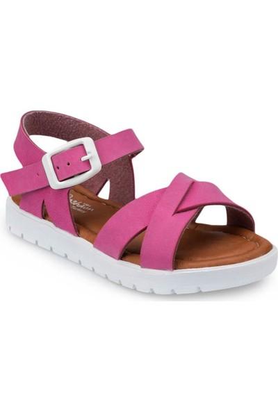 Polaris 508159 Ortapedik Fuşya Kız Çocuk (26-35) Sandalet