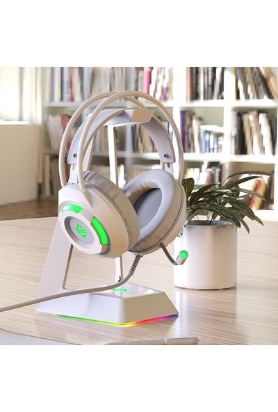 Ajazz AX120-7.1 Kanal Stereo Gaming Headset Gürültü Önleyici Kulaklık (Yurt Dışından)