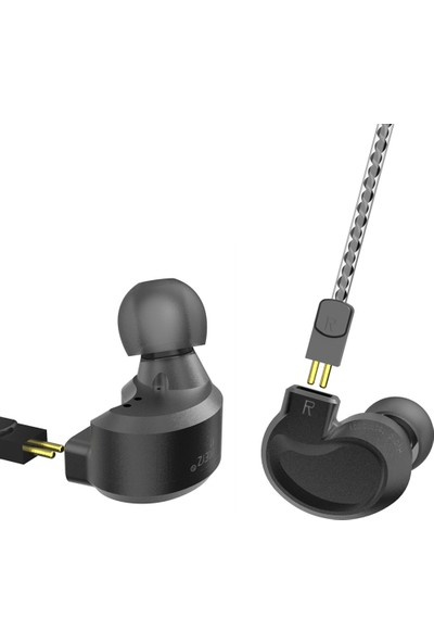 Bqeyz K1 Kablolu Metal Üçlü Kulaklık (Yurt Dışından)