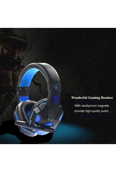 Buyfun USB 3.5 mm Arayüzü ile Mikrofon ile Pc Laptop İçin Gaming Kulaklık (Yurt Dışından)
