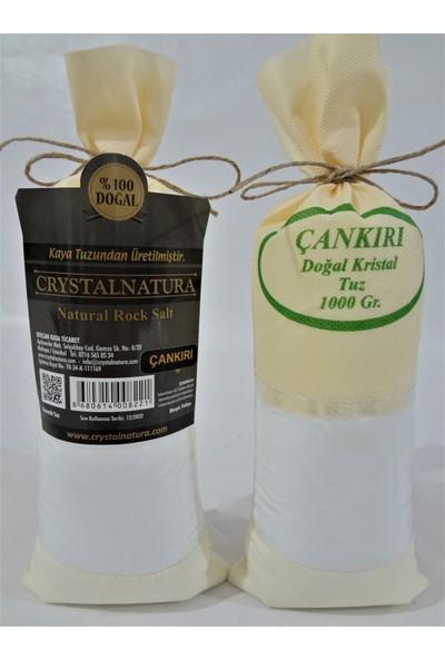Crystal Natura Doğal Çankırı Kaya Tuzu Öğütülmüş 1 kg x 2