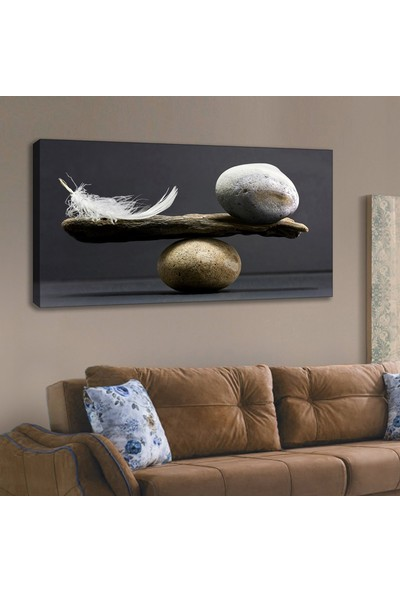 Lora Stil Kanvas Tablo 120 x 60 cm