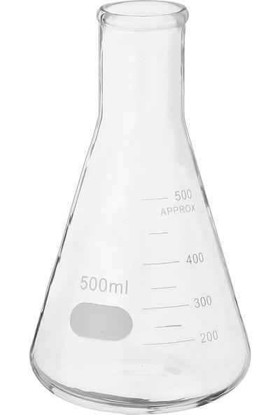 Suvar Kimya Erlen Cam Dereceli 500 ml