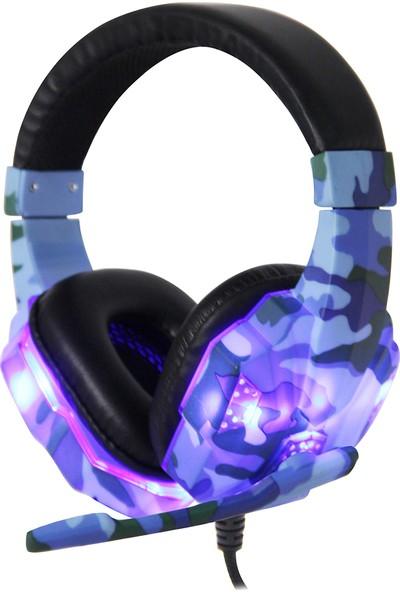 Buyfun SY830MV Gaming Headset 3.5 mm Kablolu Aşırı Kulaklık (Yurt Dışından)