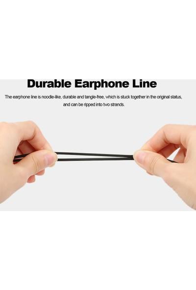 Buyfun Evrensel 3.5 mm Kablolu Yumuşak Silikon Kulaklık (Yurt Dışından)