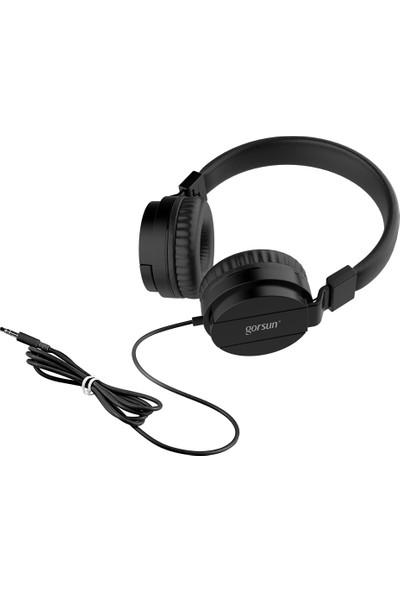 Gorsun 3.5 mm Kablolu Gaming Headset Spor Kulaklık (Yurt Dışından)
