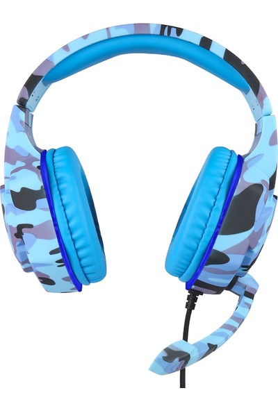 Kubite T176 Gaming Headset 3.5 mm + USB Fiş Aşırı Kulaklık (Yurt Dışından)