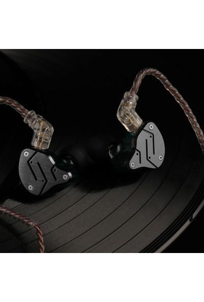 Kz Zsn 3.5 mm Kablolu W / Mikrofon Hifi Kulaklık (Yurt Dışından)