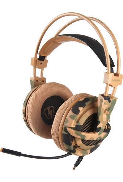 Letton L1 3.5 mm Gaming Headset Stereo Pc Dizüstü Akıllı Kulaklık (Yurt Dışından)
