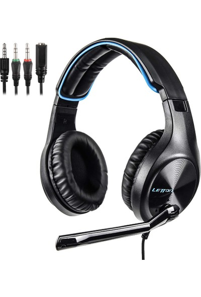 Letton L6 3.5 mm Gaming Headset Stereo Pc Dizüstü Akıllı Kulaklık (Yurt Dışından)
