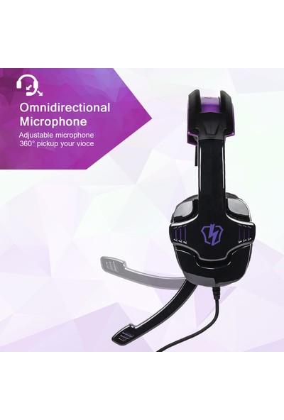 Letton L8 Gaming Headset 3.5 mm Stereo Aşırı Kulaklık (Yurt Dışından)