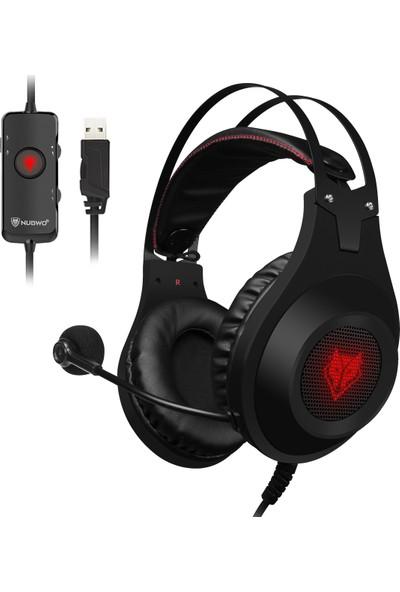 Nubwo N2 USB Kablolu Oyun Sanal 7.1 Kanal Kulaklık (Yurt Dışından)