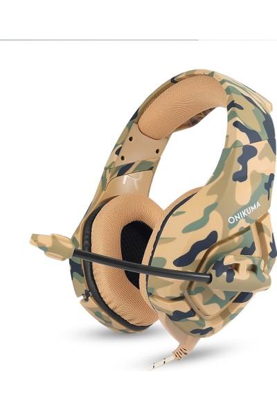 Onikuma K1 Mikrofonlu 3.5 mm Oyun Stereo Ses Kulaklık (Yurt Dışından)