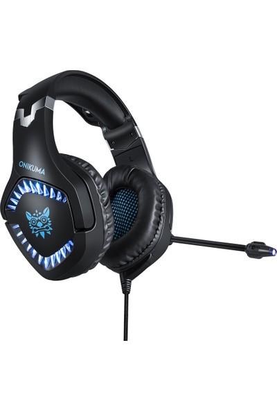 Onikuma K1BPRO Gaming Headset 3.5 mm Stereo USB LED Kulaklık (Yurt Dışından)