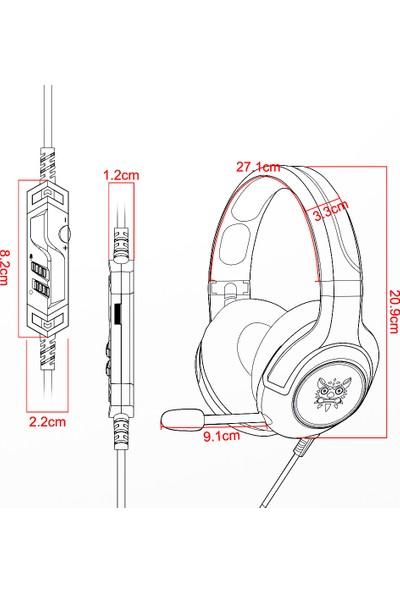 Onikuma K9 Oyun 3.5 mm Kablolu Kulaklık (Yurt Dışından)
