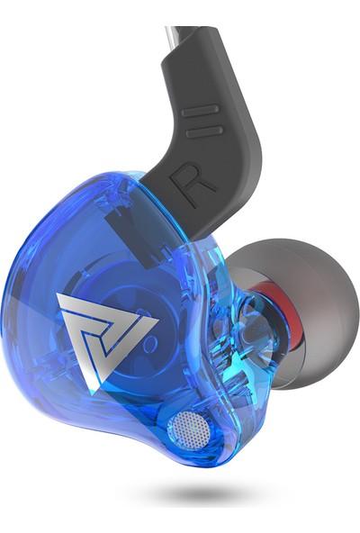 Qkz Ak6 Evrensel 3.5 mm Hifi Spor İçin Mikrofon Kulaklık (Yurt Dışından)