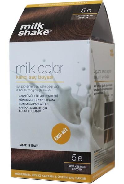 Milk_shake Milk Color Eko-Kit Saç Boyası Açık Kestane Egzotik 5e
