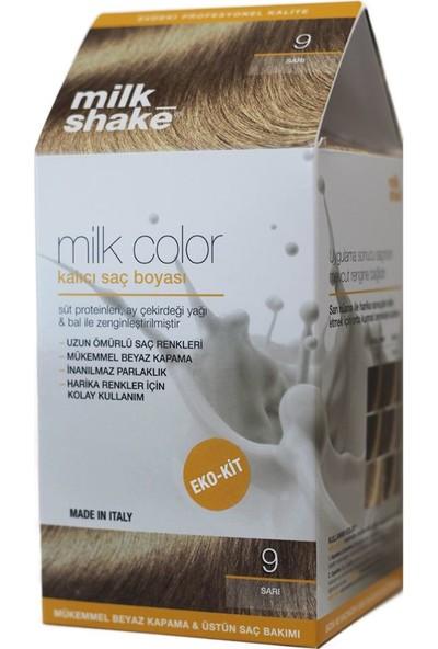 Milk_shake Milk Color Eko-Kit Saç Boyası Sarı 9