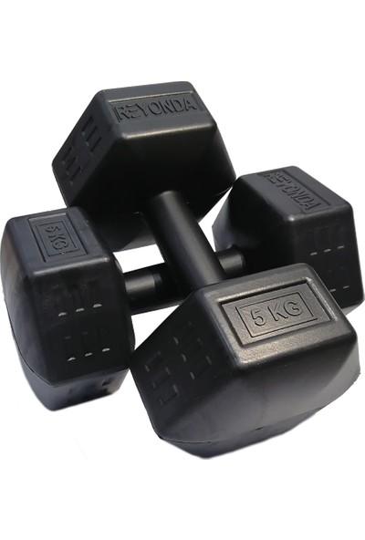 Aydın Sport 5 kg Dambıl Seti 2 x 5 kg Toplam 10 kg Ağırlık