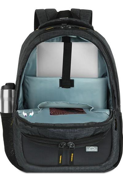 "Deepblue DP-800 15.6"" Notebook Sırt Çantası Gri - Sarı"