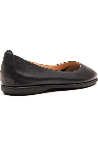 Wave Kadın Babet Ayakkabı Siyah 8030
