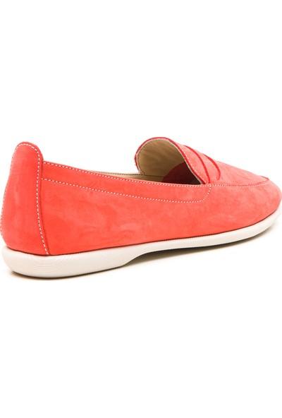 Wave Kadın Babet Ayakkabı Kırmızı 9031