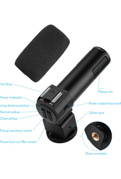 Andoer 4K Kamera 1080P 48MP Wifi Dijital Video Kamera (Yurt Dışından)