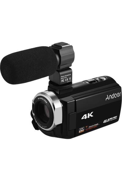 Andoer 4K HD Dijital Video Kamera Dv 16X Dijital (Yurt Dışından)