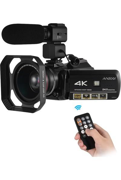 Andoer Ac3 4K UHD 24MP Dijital Video Kamera (Yurt Dışından)