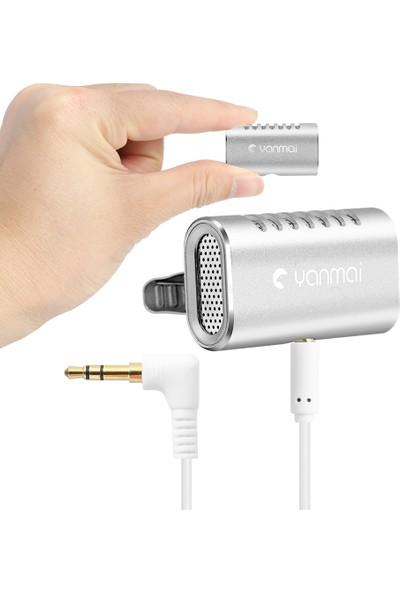 Yanmai Profesyonel Yaka Mikrofonu Klip Mini Yaka Mikrofonu (Yurt Dışından)