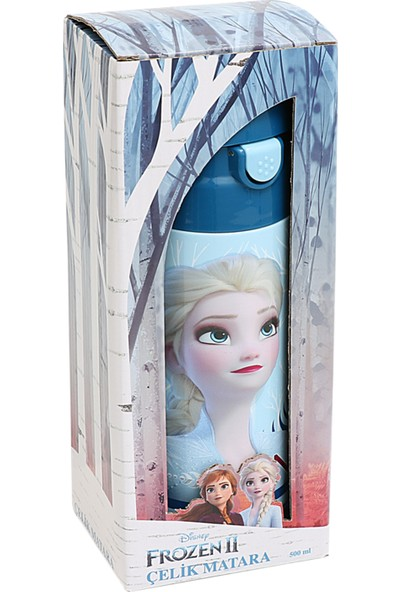 Frozen 2 Çelik Matara 500 ml. 44034