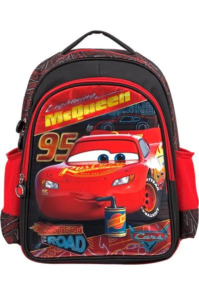 Disney Cars 5081 Disney Cars İlkokul Çantası Due Oıl Speed