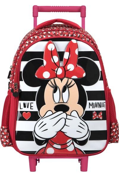 Minnie 5205 Mınnıe Çekçekli İlkokul Çantası Salto Sıgnatu