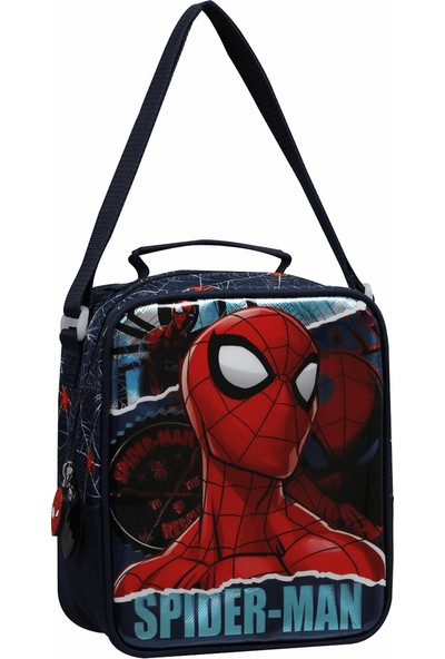 Spiderman Due Torn Beslenme Çantasi Mavi