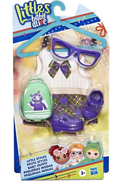 Hasbro Baby Alive Minik Bebeğim Moda Seti Mor E6645-E7168