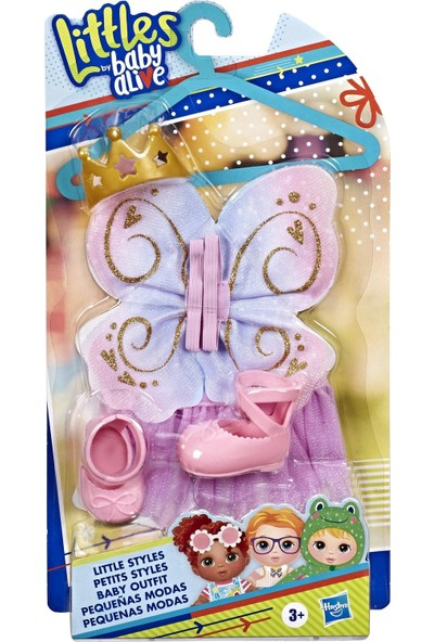 Hasbro Baby Alive Minik Bebeğim Moda Seti Pembe E6645-E7141