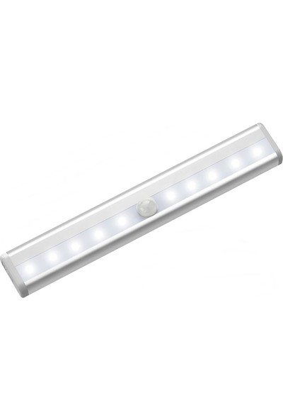 Rohs Hareket Sensörlü LED Aydınlatma Beyaz 10 Led'li