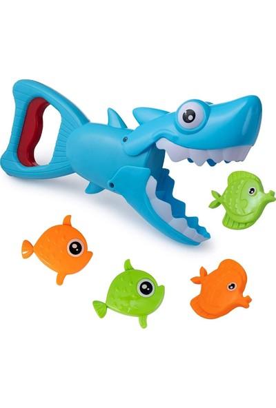 Birlik Oyuncak Baby Shark Köpek Balığı Suda Balık Tutma Oyun Seti