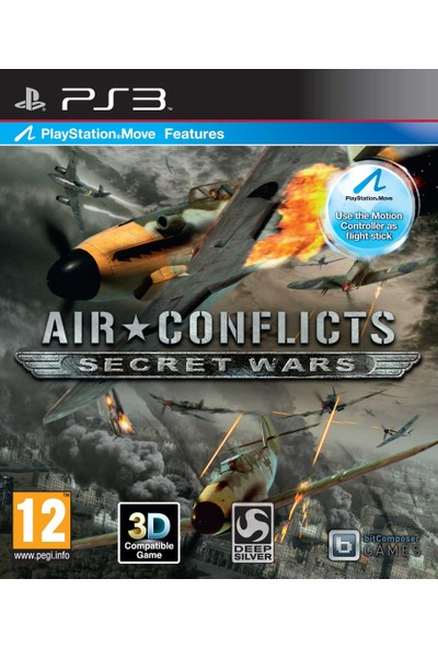 Air Conflicts Secret Wars PS3 Oyun