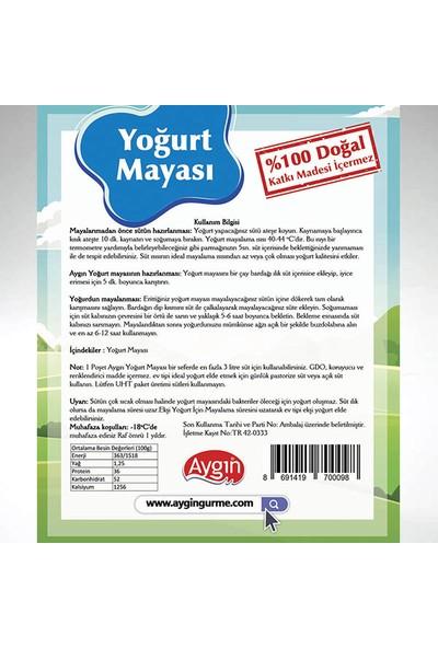 Aygın Yoğurt Mayası 6'lı 60 gr
